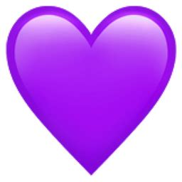 What does the purple emoji heart mean? - Quora