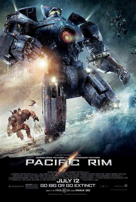 Pacific Rim posters & new trailer with Charlie Day