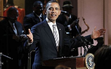 President Obama gets his groove on - Telegraph