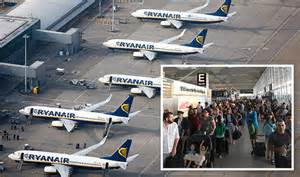 Ryanair flights cancelled: Stansted Airport chaos due to