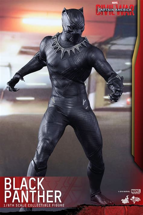 Captain America: Civil War - Black Panther by Hot Toys
