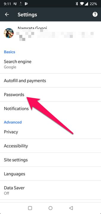 How to Disable Google Smart Lock on Android and Chrome