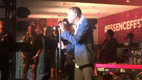 """Tevin Campbell LIVE """"Always In My Heart"""" Essence Festival"""