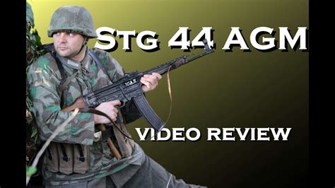 STG44/MP44 AGM video review - YouTube