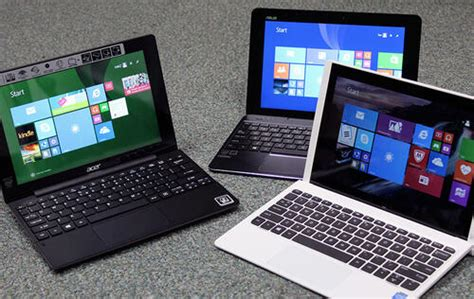 Affordable 2-in-1 detachable notebooks triple threat: Acer